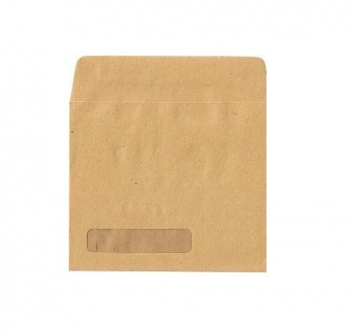 Sage Compatible Wage Envelope 107x128mm Self Seal Window 90gsm Manilla (Pack 1000)