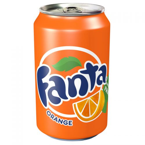Fanta 330ml Cans (Pack 24)