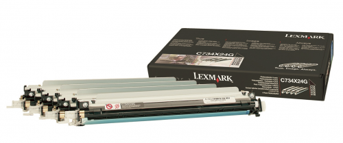 Lexmark C734X24G Colour Drum Kit 4x 20K