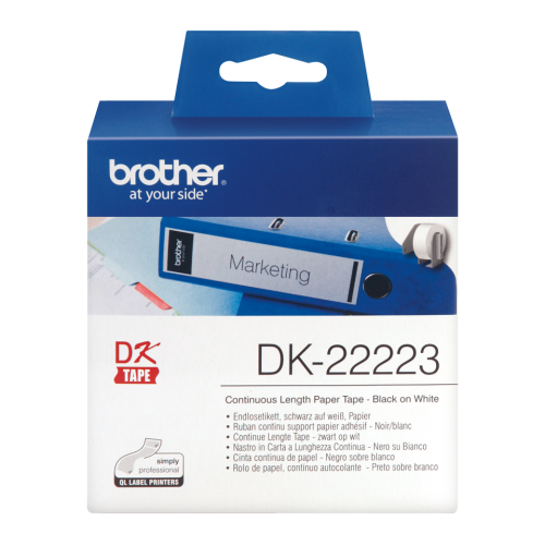 Brother DK22223 Continuous Paper Roll 55mmx30m