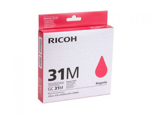 Ricoh 405690 GC31M Magenta Gel Ink 1.56K