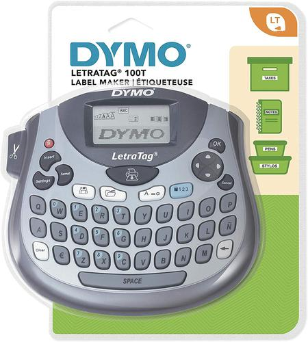 Dymo LetraTag LT-100T Plus Label Maker QWERTY Keyboard Label Printer for Office or Home S0758380