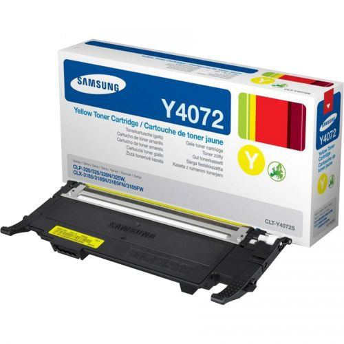 Samsung CLTY4072S Yellow Toner Cartridge 1K pages - SU472A