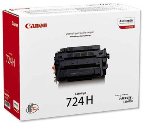 Canon 3482B002 724 Black Toner 12.5K