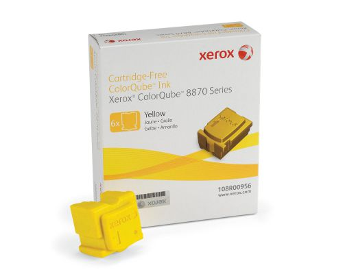 Xerox 108R00956 Yellow Solid Ink 17.3K 6 Pack