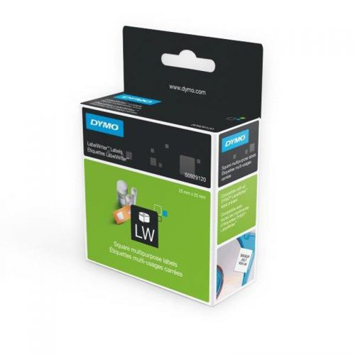Dymo LabelWriter Multi-purpose Labels White Removable 25x25