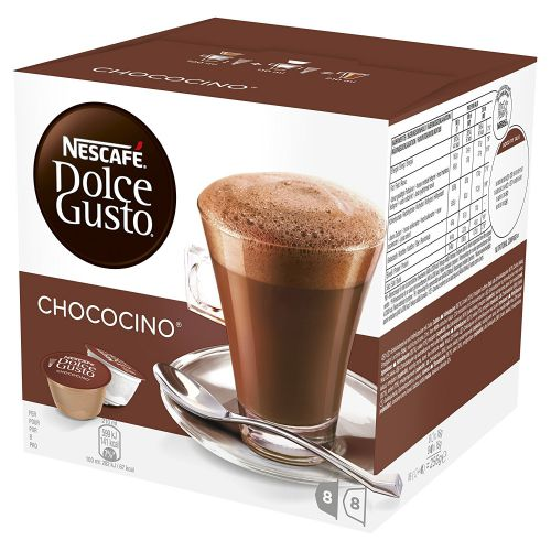 Nescafe Dolce Gusto Chococino Capsules 12311711 Packed 48 (3x16 Capsules = 24 Drinks)