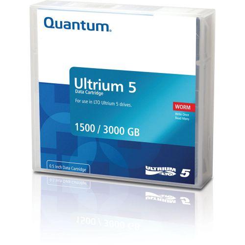 Quantum (1.5/3TB) 2:1 Compression 846m 280MB/s LTO-5 Ultrium Data Tape Cartridge (Brick Red)