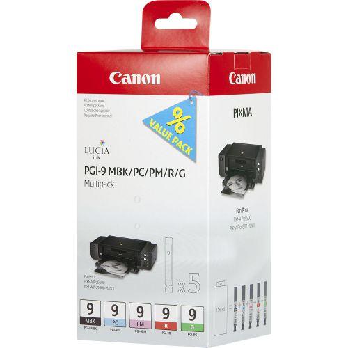 Canon 1033B013 PGI9 Photo Colour Ink 5x14ml Multipack