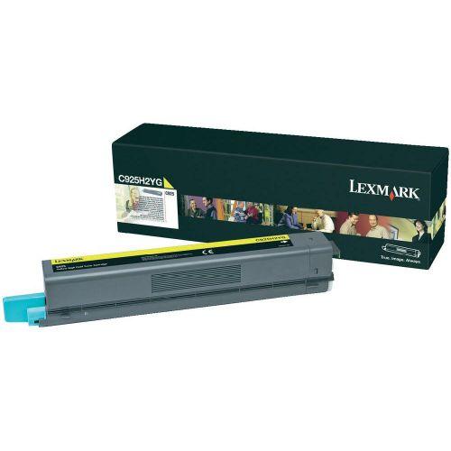 Lexmark C925H2YG Yellow Toner 7.5K