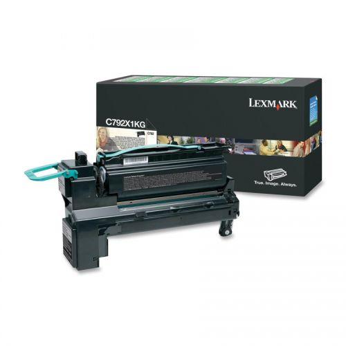 Lexmark C792X1KG Black Toner 20K