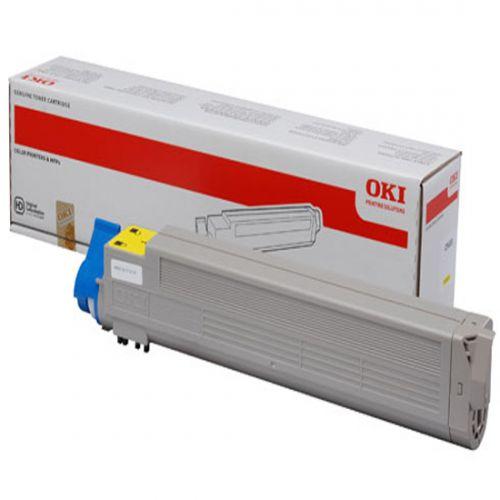 OKI 43837129 Yellow Toner 22K