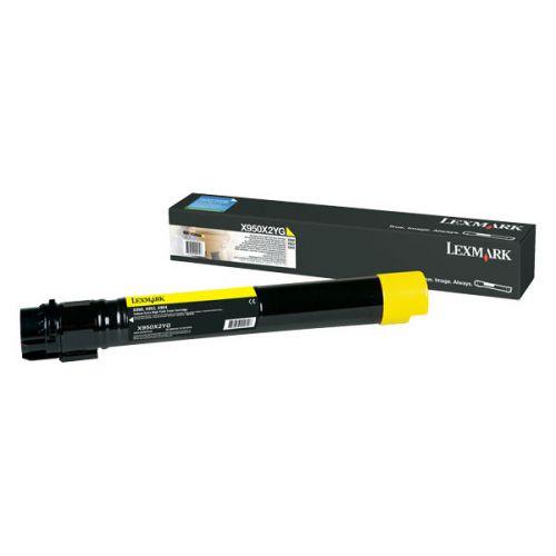 Lexmark X950X2YG Toner Yellow 22K Pages