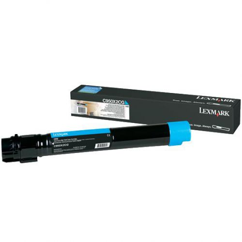 Lexmark C950X2CG Cyan Toner 24K