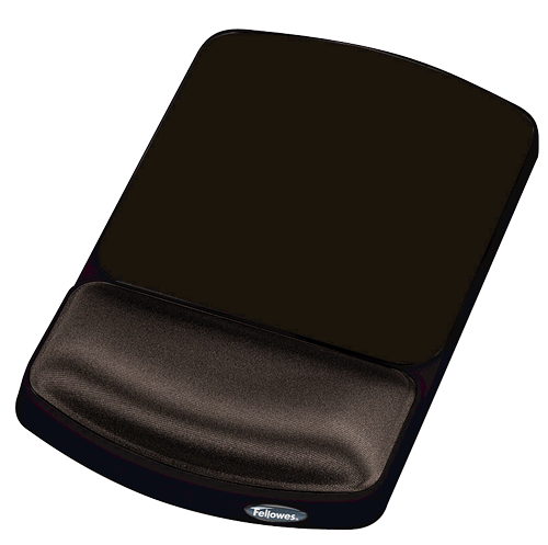 Fellowes Height Adjustable Premium Gel Mousepad Graphite