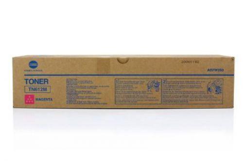 Konica Minolta TN612M Magenta Toner Cartridge 25k pages for Bizhub PRO C5501/PRO C6501- A0VW350