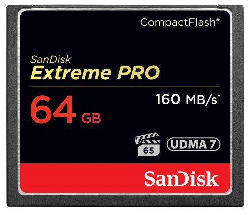 SanDisk Extreme Pro 64GB CompactFlash Card