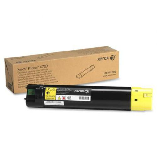 OEM Xerox 106R01509 Yellow 12000 Pages Original Toner