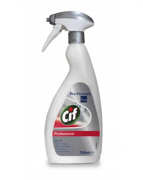 Cif Professional Washroom 2-in-1 Cleaner 750ml