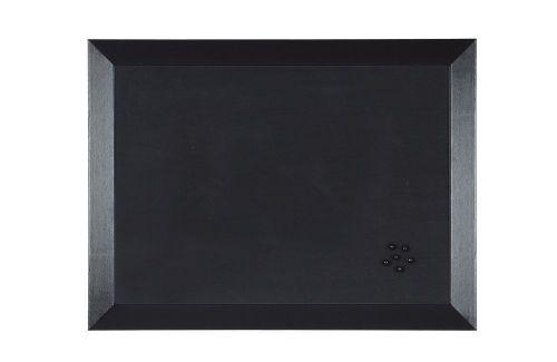 Bi-Office Kamashi Tram Black Foam Noticeboard Aluminium Frame 600x450mm