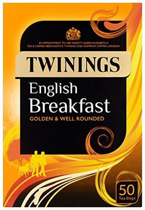 Twinings English Breakfast Tea Envelopes PK50