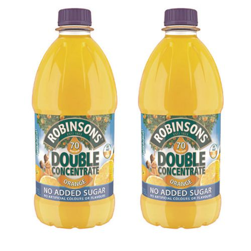 Robinsons DC NAS Orange 1.75Litre (Pack 2)