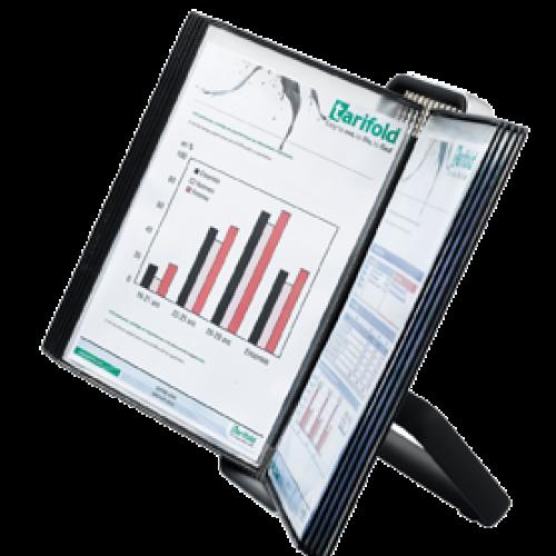 Tarifold VEO Display System Desk Unit 10 Pockets A4 744107