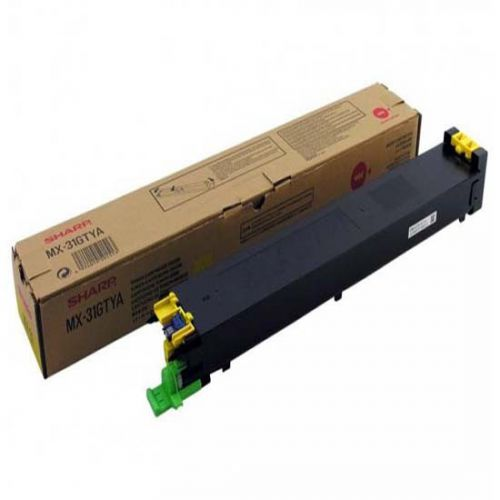Sharp MX31GTYA Yellow Toner 15K
