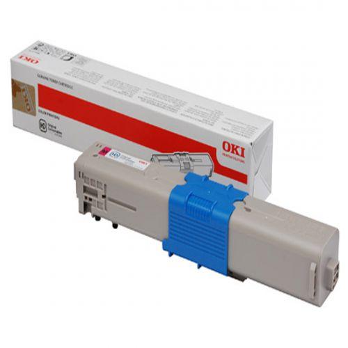 OKI 44973534 (Yield: 1,500 Pages) Magenta Toner Cartridge