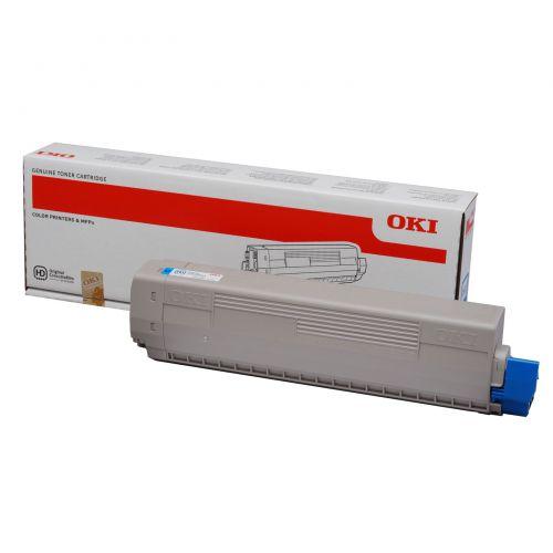 OKI 44844615 Cyan Toner 7.3K