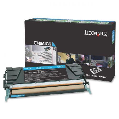 Lexmark C746A1CG Cyan Toner 7K
