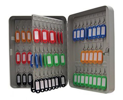 Value Key Cabinet Steel GY Lock and Wall Fixings 160 Keys