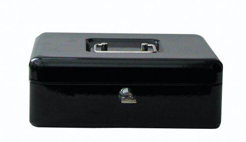ValueX 30cm (12 Inch) Key Lock Metal Cash Box Black