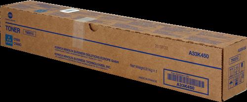 Konica Minolta TN321C Cyan Toner Cartridge 25k pages for Bizhub C224/224e/284/284e/364/364e - A33K450