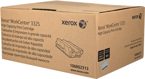 Xerox Black High Capacity Toner Cartridge 11k pages for WC3315/WC3325 - 106R02313