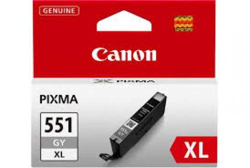 Canon 6447B001 CLI551XL Grey Ink 11ml