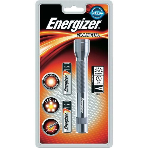 Energizer FL Metal LED Plus 2AA Torch