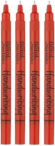 Berol Handwriting Stick Pen Black Pack of 20 3P
