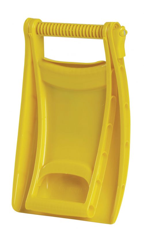 Yellow Winter Snowflex Foldable Snow Shovel 384063