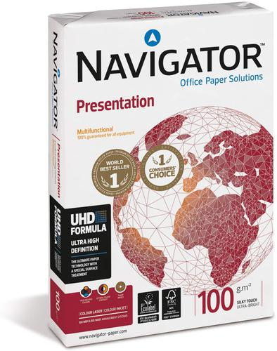 Navigator Presentation Paper 100gsm A4 BX5 reams