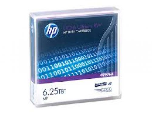 HP C7976A LTO6 Data Tape 6.25TB