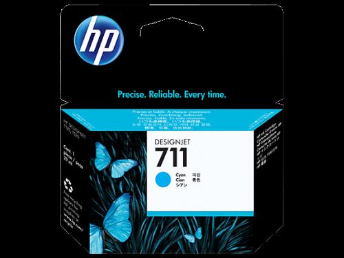 HP 711 Cyan Standard Capacity Ink Cartridge 29ml CZ130A