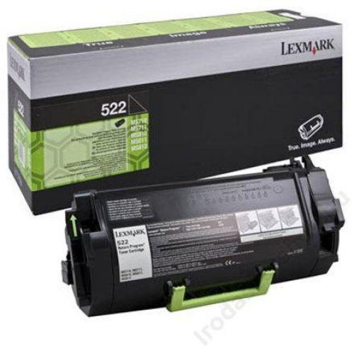 Lexmark 52D2000 522 Black Toner 6K