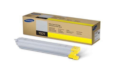Samsung CLT Y809S Yellow Toner 15K
