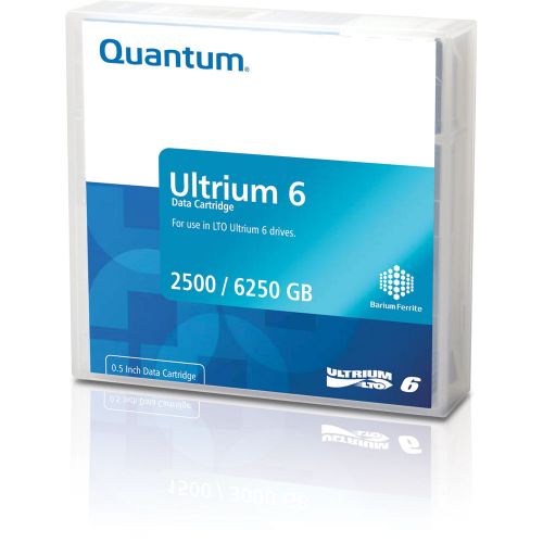 Quantum LTO-6 Ultrium Blank Data Cartridge 2.5TB Native / 6.25TB Compressed (Black)
