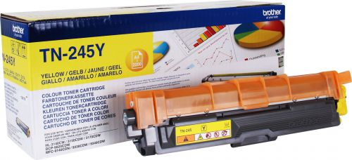 Brother TN245Y Yellow Toner 2.2K