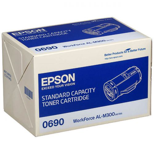 Epson C13S050690 0690 Black Toner 2.7K