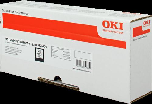 OKI 45396304 Black Toner 8K