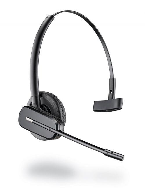Plantronics CS540A Super Lightweight DECT Headset Black