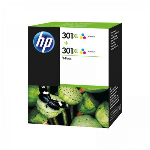 HP D8J46AE 301XL Tricolour Ink 6ml Twinpack